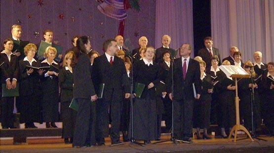 Gemischter Chor Ludwigsfelde E V Fotoalbum Weihnachtskonzert Im Kulturhaus Ludwigsfelde 2003